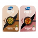 Meat-free milk protein strips, free from lactose - Meat-free strips made from milk protein. Rich in protein, calcium and vitamin B12. With recipe on the back of the pack.<br><br>Selected for the offer of quick stir-fry based on meat substitute, consisting of proteins naturally found in milk.<br>