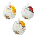 DayUp Pearls - Fruit, coconut-cream and tapioca pearls dessert. No added sugar or artificial additives. Gluten-free. In a round drink pouch.<br><br>Selected for the offer of fruit-based healthy snacking.<br>