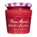 Confiture de fruits de la gamme INTENSES - Jam with intense taste. With 30% less sugar than a traditional jam.  With 2 fruits. In a pot with transparent label.<br /> <br><br>Selected for the intense taste.<br>