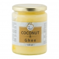 Coconut oil and ghee butter - Mix of coconut oil and ghee (clarified butter).<br /> <br><br>Selected for the ghee product associated with coconut oil.<br>