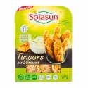Fingers Sojasun - Soy nuggets with vegan sauce to dip. Rich in vegetable protein. No preservative. French soy.<br><br>Selected for the convenience of the product and the finger-food use for soy-based products.<br>