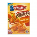 Potatoes - Potato-shaped croquettes. No flavor enhancers or palm oil. 15 pieces.<br /> <br><br>Selected for the originality of the shape and the potato-based recipe.<br>