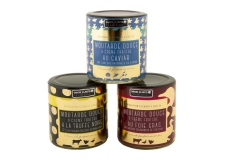 Moutardes impériales - Blend of mustard and sour cream with selected ingredients. In a sophisticated jar.<br><br>Selected for the use of noble ingredients (truffles, foie gras, caviar).<br>