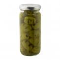 Grilled olives - Smoked and marinated roasted olives.<br><br>Selected for the new taste brought by roasted olives.<br>