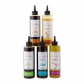 Les Infusées - Grape seed oil infused with aromatic herbs. Fresh product. In soft bottle with nozzle.<br><br>Selected for the range of aromatic herb flavored oils.<br>