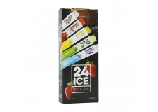 24ICE / Alcoholic Ice Cocktails - Alcoholic cocktail ice in a single tube. 5% alcohol by volume.