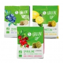 Green Up' - Mini organic cookies with superfoods. 100% plant-based. Rich in fiber and vitamins. AB and European certification.<br><br>Selected for the natural functionality provided by superfood.<br>