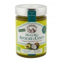 Huile Bio Avocat et Coco - Organic avocado and coconut oil blend. Taste of avocado oil, and texture of coconut oil. Use for cooking or cosmetics for skin and hair beauty.<br><br>Selected for the recipe combining avocado and coconut oils.<br>