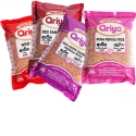 ARIYA Ceylon Red Rice - Natural ARIYA Ceylon Red Rice is a Low GI natural grain that is recommended as a healthy diet since it helps reducing Blood Sugar Levels. Red Rice is rich in Fiber, Minerals, Vitamins E and B6. It is ideal for Diabetic Patients