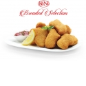 K&N's Breaded Selection - K&N's Breaded Selection adds distinctive flavour to classic favourites. From the exotic seasoning blend in our crunchy Tender Pops, to the fresh green chillies in Haray Bharay Nuggets, and real cheddar in our cheese stuffed chicken Croquettes, each ingredient is carefully selected to enhance flavour.