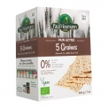 Pain azyme 5 graines bio - Organic 5-seed matzo. With amaranth, flax, millet, poppy and teff seeds. No sugar, salt, fat or yeast. Vegan.<br><br>Selected for the recipe of 5-seed matzo.<br><br>