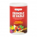 Crumble de sablés - Crumble of pure butter shortbreads to sprinkle. 100% handcrafted and natural. <br><br>Selected for the baking aid product made from butter-biscuit by-product and the ease of use.<br>