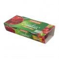 Fraîcheur de fruits - Fruits in smooth and refreshing juice. Pack of 2 cups.<br><br>Selected for the powerful fruit taste and the new sensory experience.<br>