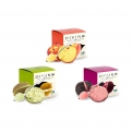 Gelato Filled Fruit - Original gelato filled fruit in a packaging to go with spoon included. No GMO. Made in Italy.