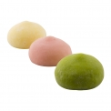 Bubbies dairy free Mochi Frozen Desserts - Mochi filled with coconut milk ice cream. Gluten free.<br><br>Selected for the offer of mochi ice cream in mass distribution channels.<br>
