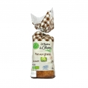 Pain Bio Sans Gluten aux Graines (lin, chia) - Fresh organic bread without gluten or milk. High in fibre. Made in France. AB and European certification. Can be frozen for longer storage.