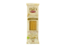 Organic pasta Senatore Cappelli - Organic pasta with selected ancient wheat semolina. Bronze drawn. Ready in 11 minutes.<br><br>Selected for the ancient wheat variety (Senatore Cappelli).<br>