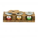 Tea Spa Collection - Trio of teas in individual boxes on wellness theme. 100% natural.