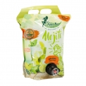 Mojito bio - Organic alcohol-free cocktail in a 3l flexible pouch with tap. AB and European certification. Can be kept up to 6 weeks after opening. Vegan.<br><br>Selected for the offer of organic non-alcoholic mojito in 3l bag.<br>