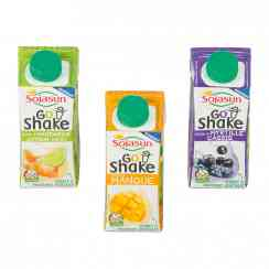 Go Shake - Fermented soy specialty drink in small 20cl carton to-go with cap. Source of plant proteins, calcium and fiber. French GMO-free soy.<br><br>Selected for the concept of soy-based shake to-go.<br><br>