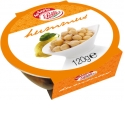 HUMMUS - Polli Hummus is presented in plastic bowls, the perfect packaging for an out of home meal or snack, and it is an ambient product (shelf life: 15 months). It is avalilable in the following tastes: original, sundried tomatoes, red chicory and walnuts.