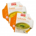 Organic soup with spinach & hemp seeds - Organic chilled vegetable soup with seeds. Vegan. Gluten-free.<br><br>Selected for the convenient and healthy offer of superfoods.<br>