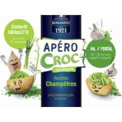 CROUSTILLES APERO CROQ - A  crispy shell , with a moist topping , available in four recipes, specially for cocktails !