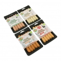 Saucisse végétarienne biologique - Organic vegetarian sausages. Made with wheat starch and vegetables.<br><br>Selected for the offer of organic plant-based sausages.<br><br>