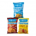 Protein chips - Baked protein chips, without palm oil. Vegan. Rich in fiber. Low fat.<br><br>Selected for the recipe of chips enriched with rice and pea protein.<br>