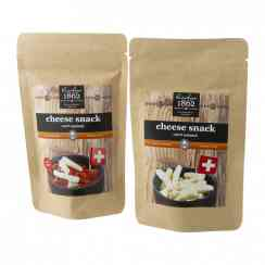 Swiss cheese snack (100% natural) - Puffed Swiss cheese snack. 100% natural.<br><br>Selected for the offer of puffed Swiss cheese snacks.<br>