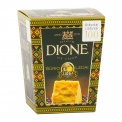"""DIONE HARD CHEESE CRANBERRY ICE CREAM - This product's composition and design was created specially for Restored Lithuania (100 years). Premium vanilla ice cream with legendary hard cheese """"Džiugas"""" 18 month mature and  forest rubies - cranberries. The design of the packaging is very exceptional because of national motifs being used in it"""
