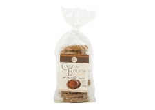 Le coeur de beurre au sarrazin - Buckwheat biscuits topped with salted butter caramel cream. 12 individually wrapped biscuits.<br><br>Selected for the buckwheat recipe.<br>