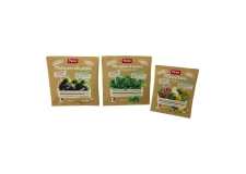 Frozen vegetables in paper-based bag - Frozen vegetables from ecosustainable chain in a biodegradable paper bag. Pesticide residual free. Agricultural techniques with low environmental impact on air, land and water.<br><br>Selected for the eco-sustainability of the production and the packaging.<br>