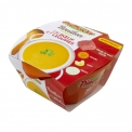 Bouillon de boeuf et légumes - Natural fresh broth in microwaveable bowl. No monosodium glutamate, preservatives or colors. Ready in 3 minutes.<br><br>Selected for the offer of ready-to-eat fresh broth.<br>