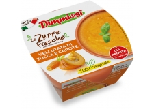 N° 1 in Italy, 12 years of experience. Ready to eat fresh soups with a surprising homemade taste. 100% vegetable, genuine, free from preservatives and glutamate, prepared with fresh vegetables. Offered in a single portion or 2 portion microwavable bowl. Organic recipes available. - N° 1 in Italy, 12 years of experience. Ready to eat fresh soups with a surprising homemade taste. 100% vegetable, genuine, free from preservatives and glutamate, prepared with fresh vegetables. Offered in a single portion or 2 portion microwavable bowl. Organic recipes available.