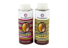 Grand choice cold brew coffee - Flavored cold brew coffee. Rainforest Alliance certified coffee. Fat, lactose and gluten free. In 250ml bottle.<br><br>Selected for the offer of flavored cold-brew coffee.<br>