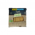 Toasts Teff - Organic rusks with no gluten, milk or lactose. Source of fibre.