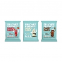 Fruchee® - Dairy snacks for children in a packaging to go. Source of calcium and vitamin D. High protein. Natural ingredients. Ideal for lunch box, no spoon required. 4 individually wrapped 20g servings.