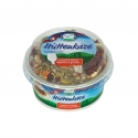 Cottage cheese - Fresh cheese with vegetables and seeds in the lid. With spoon included.