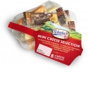 Ilchester Mini Cheese Selection - The Ilchester® Mini Cheese Selection Net contains 8 delicious individually-wrapped snack-sized portions of British favourites, including the UK's No1 best-selling smoky Applewood®, Mexicana®. No matter which is your favourite, Ilchester® has you covered with the ultimate Mini Cheese Selection.