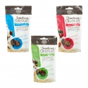 Snacking chocolate - Chocolate bites with fruit and quinoa pieces. Soft truffle core in a chocolate coating. Gluten-free. In a stand-up pouch.<br><br>Selected for the healthy snacking offer for the consumer.<br>