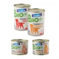 Canaillou bio - Pet food from organic farming. AB certified. No adding of colors, preservatives or cereals. Made in France.<br><br>Selected for the organic nature of pet food products.<br>