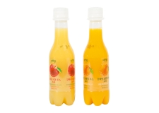 JusReal, freshly squeezed juice soda - Sparkling freshly-squeezed fruit juice. Contains no preservatives, caffeine, added sugar or high-fructose corn syrup.<br><br>Selected for the sparkling character of the fruit juice composition.<br>
