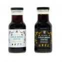 Cold Brew Ready to drink and Concentrate - Organic cold brewed coffee drink. In a glass bottle.
