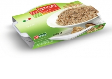 Ready to eat rice  in  5mn ; Vaccum- packed and sterilized easy to prepare especially by a micro wave. It has got a new design very attractive ;It is a risotto coming from the traditional regional italian cuisine. - Ready to eat rice  in  5mn ; Vaccum- packed and sterilized easy to prepare especially by a micro wave. It has got a new design very attractive ;It is a risotto coming from the traditional regional italian cuisine.