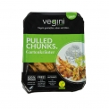 Pulled Chunks  / frozen range - Pulled meat substitute 100% vegan. Made with pea protein. High protein and fiber.