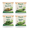 Frozen vegetables - Frozen organic vegetables in a compostable bag. 100% Italian vegetables.<br><br>Selected for the compostable pack.<br>