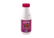 Kefir with stevia, strawberry, sour cherry & blueberry - Red berry kefir sweetened with stevia, source of protein.<br><br>Selected for the offer of high-protein milk kefir.<br>