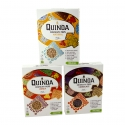 Petit-déjeuner miel - biologique & sans gluten - Gluten-free organic puffed quinoa cereals. Hign in fiber. Source of protein. Quinoa from the Andes. Suitable for vegetarians.<br><br>Selected for the range of organic quinoa-based breakfast cereal.<br>