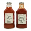 Drink Mixers - Cocktail mix made with spicy vegetables. Add alcohol. In a 710ml glass bottle with recipes on the back.